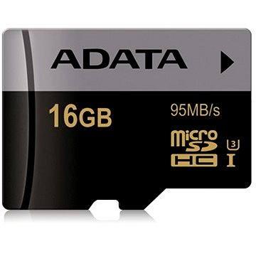 ADATA Premier MicroSDHC 16GB UHS-I U3 Class 10 (AUSDH16GUI3CL10-R)