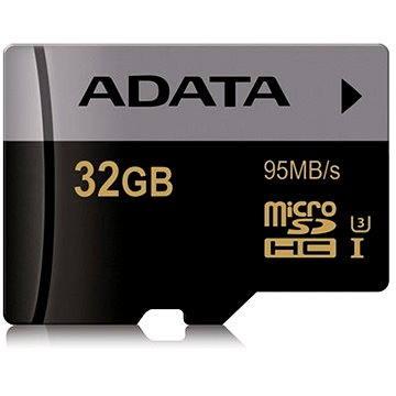 ADATA Premier Micro SDHC 32GB UHS-I U3 Class 10 (AUSDH32GUI3CL10-R)