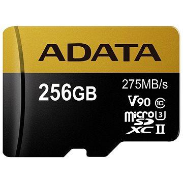 ADATA Premier ONE MicroSDXC 256GB USH-II U3 Class 10 (AUSDX256GUII3CL10-C)