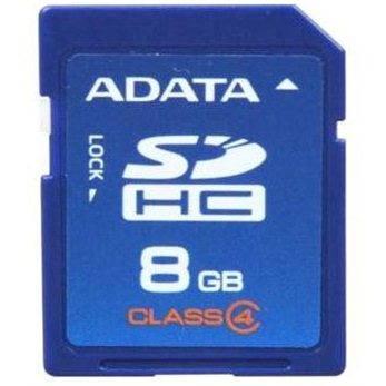ADATA SDHC 8GB Class 4