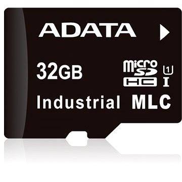 ADATA Micro SDHC Industrial MLC 32GB, bulk (IDU3A-032GM)