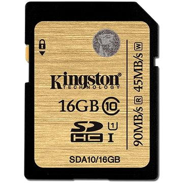 Kingston SDHC 16GB UHS-I Class 10 (SDA10/16GB)