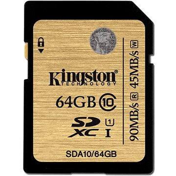 Kingston SDXC 64GB UHS-I Class 10 (SDA10/64GB)