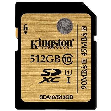 Kingston SDXC 512GB UHS-I Class 10 (SDA10/512GB)