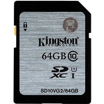 Kingston SDXC 64GB Class 10 UHS-I (SD10VG2/64GB)