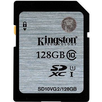 Kingston SDXC 128GB Class 10 UHS-I (SD10VG2/128GB)