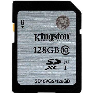 Kingston SDXC 128GB Class 10 UHS-I (SD10VG2/128GB)