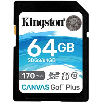 Kingston Canvas Go! Plus SDXC 64GB (SDG3/64GB)