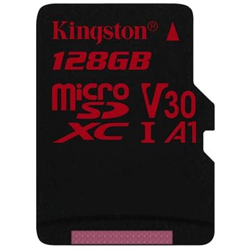 Kingston Canvas React MicroSDXC 128GB A1 UHS-I V30 U3 (SDCR/128GBSP)