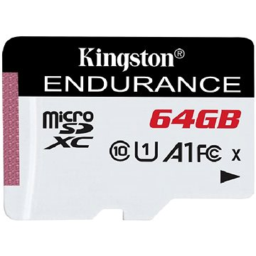 Kingston Endurance microSDXC 64GB A1 UHS-I Class 10 (SDCE/64GB)