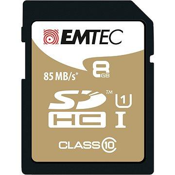 EMTEC SDHC 8GB Gold Plus Class 10 (ECMSD8GHC10GP)