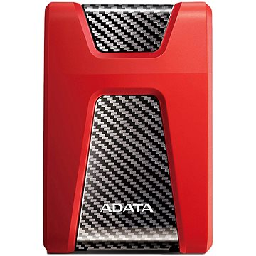 "ADATA HD650 HDD 2.5"" 1000GB červený - AHD650-1TU3-CRD"