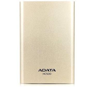 ADATA HC500 HDD 2.5 1TB zlatý (AHC500-1TU3-CGD)
