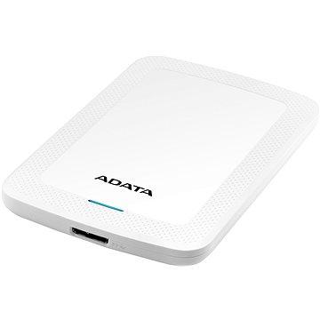 ADATA HV300 externí HDD 1TB 2.5'' USB 3.1, bílá (AHV300-1TU31-CWH)