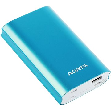 ADATA A10050QC Power Bank 10050mAh modrá (AA10050QC-USBC-5V-CBL)