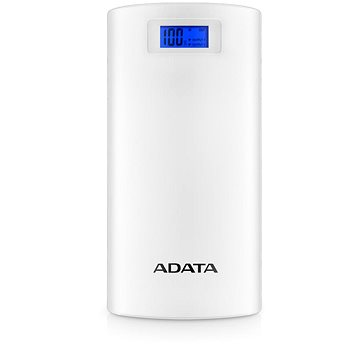 ADATA P20000D Power Bank 20000mAh bílá (AP20000D-DGT-5V-CWH)