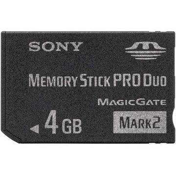 Sony Memory Stick PRO DUO 4GB Mark2 (MSMT4GN)