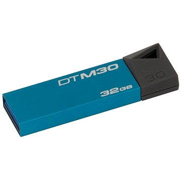 Kingston DataTraveler Mini 32GB azurový (DTM30/32GB)