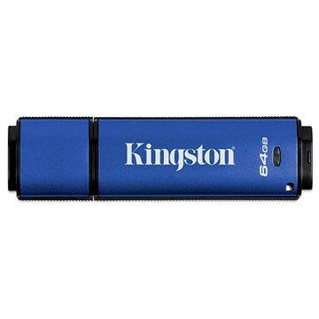 Kingston DataTraveler Vault Privacy 3.0 64GB (DTVP30/64GB)