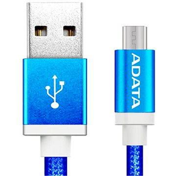 ADATA microUSB 1m modrý (AMUCAL-100CMK-CBL)