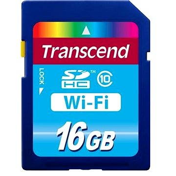 Transcend WiFi SDHC Card 16GB (TS16GWSDHC10)