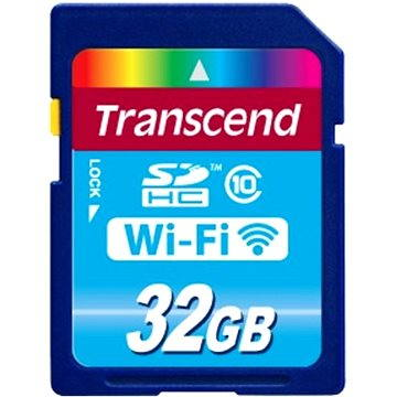 Transcend WiFi SDHC Card 32GB (TS32GWSDHC10)