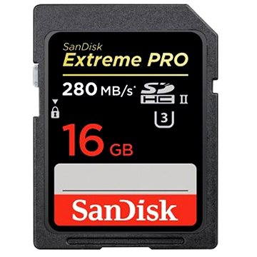 SanDisk SDHC 16GB Extreme Pro Class 3 UHS-II
