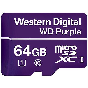 WD Purple MicroSDXC 64GB UHS-I U1 (WDD064G1P0A)