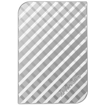 Verbatim 2.5 Store n Go USB HDD 500GB II - stříbrný (53196)