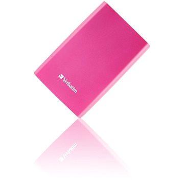 Verbatim 2.5 Store n Go USB HDD 1TB - jasně růžový (53073)