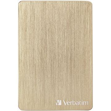 VERBATIM Store´n´ Go ALU Slim 1TB, zlatý (53664)