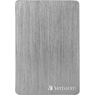 VERBATIM Store´n´ Go ALU Slim 2TB, vesmírně šedý (53665)
