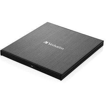 VERBATIM Externí Blu-Ray Slimline Ultra HD 4K vypalovačka USB 3.1 Gen 1 (USB-C) (43888)