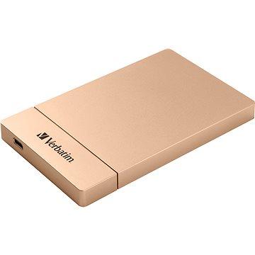 "VERBATIM externí box pro 2,5"" HDD SATA, USB-C / USB 3.1. Gen2 Rose Gold (53105)"