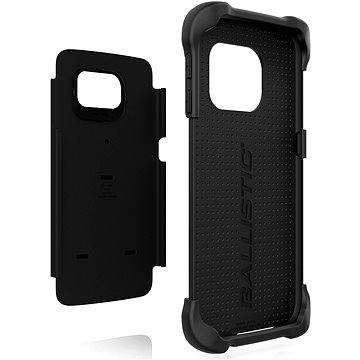 Ballistic Tough Jacket Samsung Galaxy S6 edge černé (TJ1613-A06)