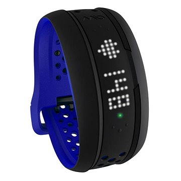 Fitness náramek MIO Fuse activity tracker - kobaltově modrý s dlouhým páskem (MI-59P-LRG-BLU)