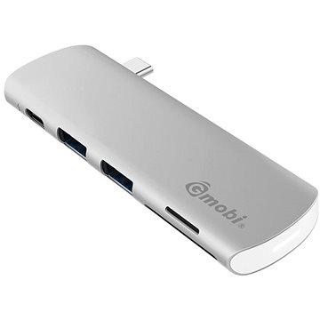 Gmobi USB-C Hub GN21E Silver (GN21E_S)