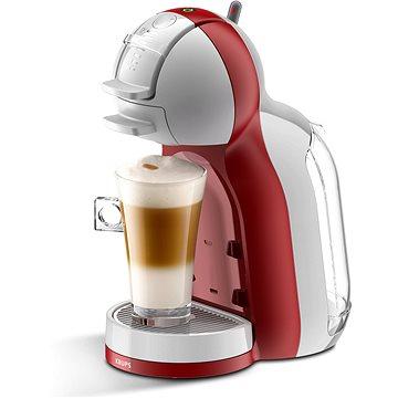 Krups KP1205CS Nescafé Dolce Gusto Mini Me šedé/červené + ZDARMA Kávové kapsle Nescafé Dolce Gusto Latte Macchiatto LIGHT 16ks x 3