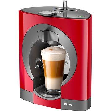 Krups KP110531 Nescafé Dolce Gusto Oblo červené + ZDARMA Kávové kapsle Nescafé Dolce Gusto Capuccino Skinny 16ks x 3 ks
