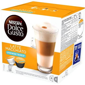 Nescafé Dolce Gusto Latte Macchiato bez cukru 16ks (12120283)