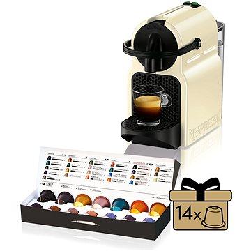 NESPRESSO DéLonghi Inissia EN80.CW + ZDARMA Voucher NESPRESSO voucher na šlehač mléka Nespresso Aeroccino3 - zdarma k objednávce min 5 balení kávy