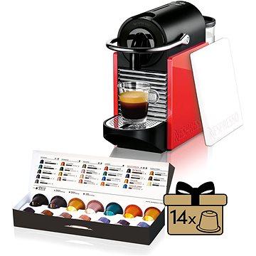 NESPRESSO DéLonghi Pixie Clips EN126 + ZDARMA Poukaz NESPRESSO Voucher na nákup kávy v hodnotě 1200Kč