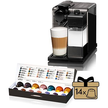 NESPRESSO DéLonghi Lattissima Touch EN 550 B černé (EN550B) + ZDARMA Sada Sada 4 šálků z View Collection