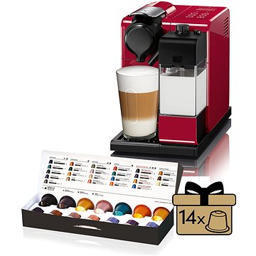 NESPRESSO DéLonghi Lattissima Touch EN 550 R červené (EN550R) + ZDARMA Sada Sada 4 šálků z View Collection