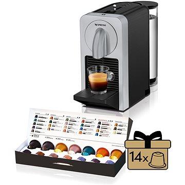 NESPRESSO DéLonghi Prodigio EN170.S + ZDARMA Voucher Nespresso voucher na 80 kapslí Grand Cru kávy