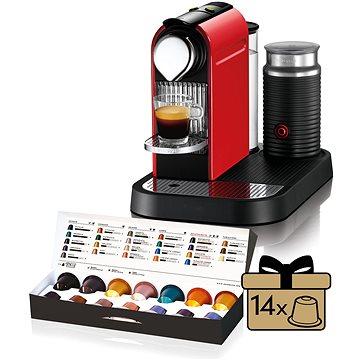 NESPRESSO Krups Citiz XN730510 (XN7305CP) + ZDARMA Voucher Nespresso voucher na 80 kapslí Grand Cru kávy