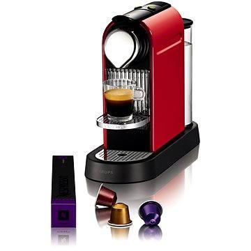 NESPRESSO Krups Citiz XN720510 (XN7205CP) + ZDARMA Voucher Nespresso voucher na 80 kapslí Grand Cru kávy