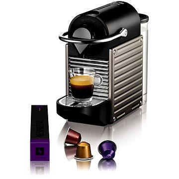 NESPRESSO Krups Pixie XN301T (XN301TCP) + ZDARMA Voucher Nespresso voucher na 80 kapslí Grand Cru kávy