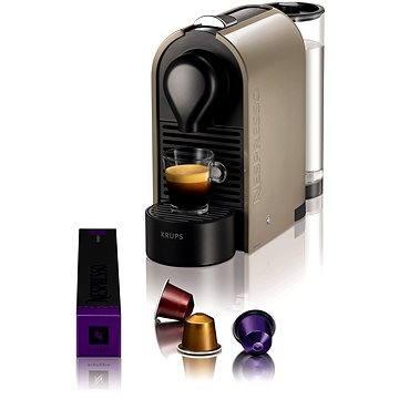 NESPRESSO Krups U XN250A10 (XN250ACP) + ZDARMA Promo NESPRESSO Voucher na nákup kávy v hodnotě 1200Kč
