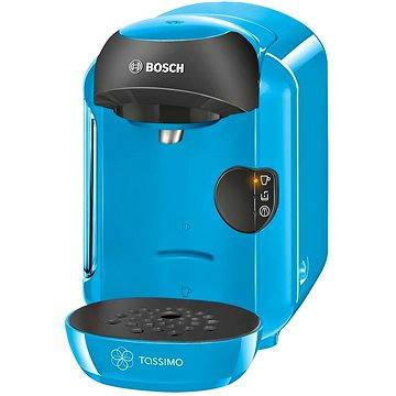 Bosch TASSIMO TAS1255 Vivy modrá + ZDARMA Kávové kapsle TASSIMO Jacobs Krönung Cappuccino 264g Kávové kapsle TASSIMO Milka 240g Kávové kapsle TASSIMO Jacobs Krönung Espresso 118,4g